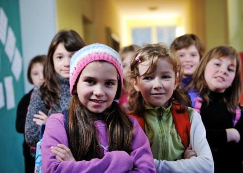 Group of pre-kindergarten students